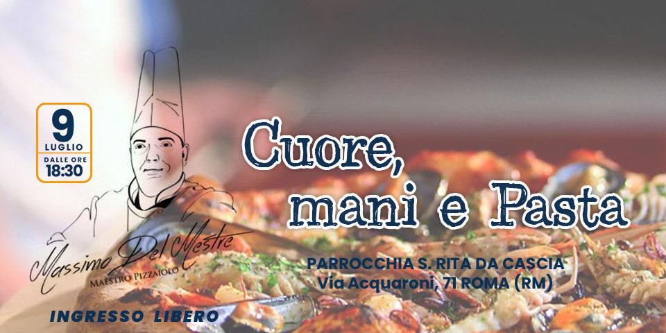 cuore mani e pasta evento di beneficenza roma solidarieta onlus