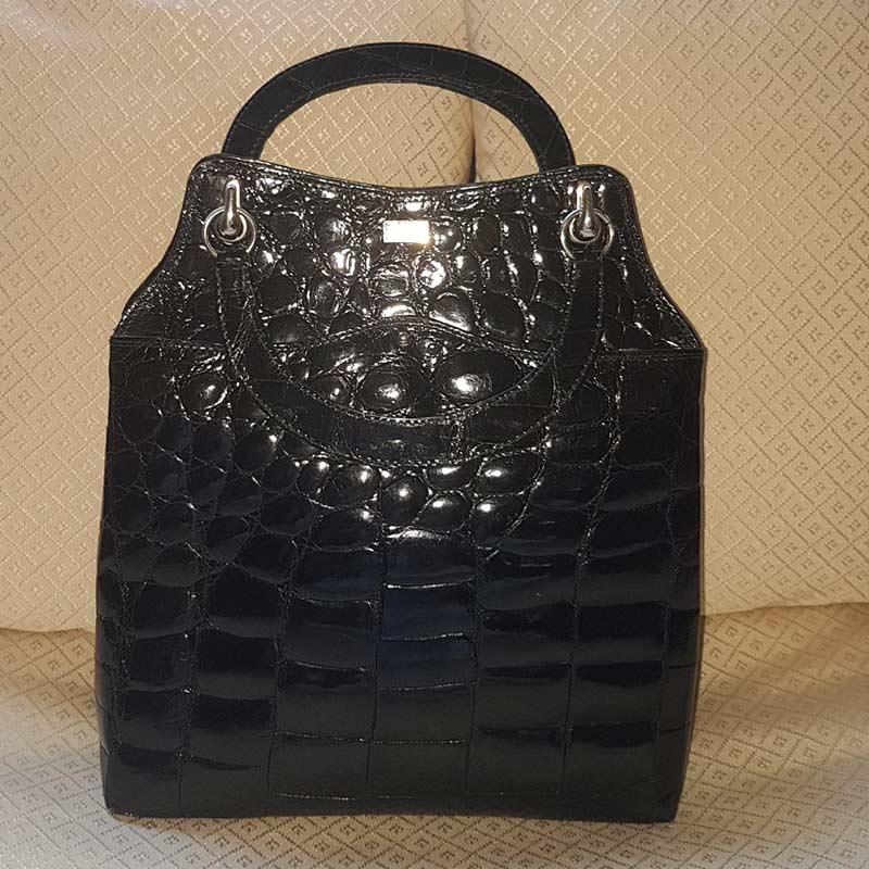 borsa cocco nero